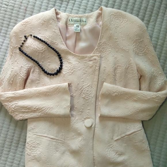 Vintage Christian Dior suit jacket